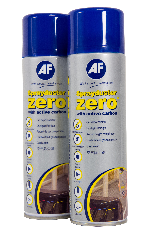 AF Spraydust Trykkluft på boks, ikke-brennbar (2x420ml)