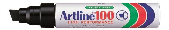 Artline 100 Permanent Merkepenn 12.0 sort