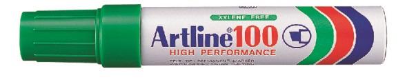 Artline 100 Permanent Merkepenn12.0 grønn