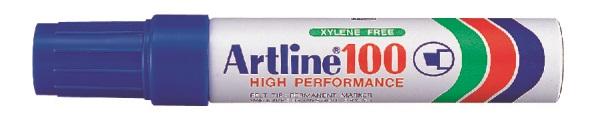 Artline 100 Permanent Merkepenn 12.0 blå