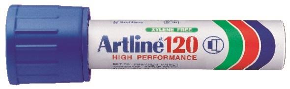 Artline 120 Permanent Merkepenn 20.0 blå