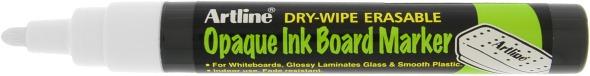Artline Chalk merkepenn Opaque 2mm hvit
