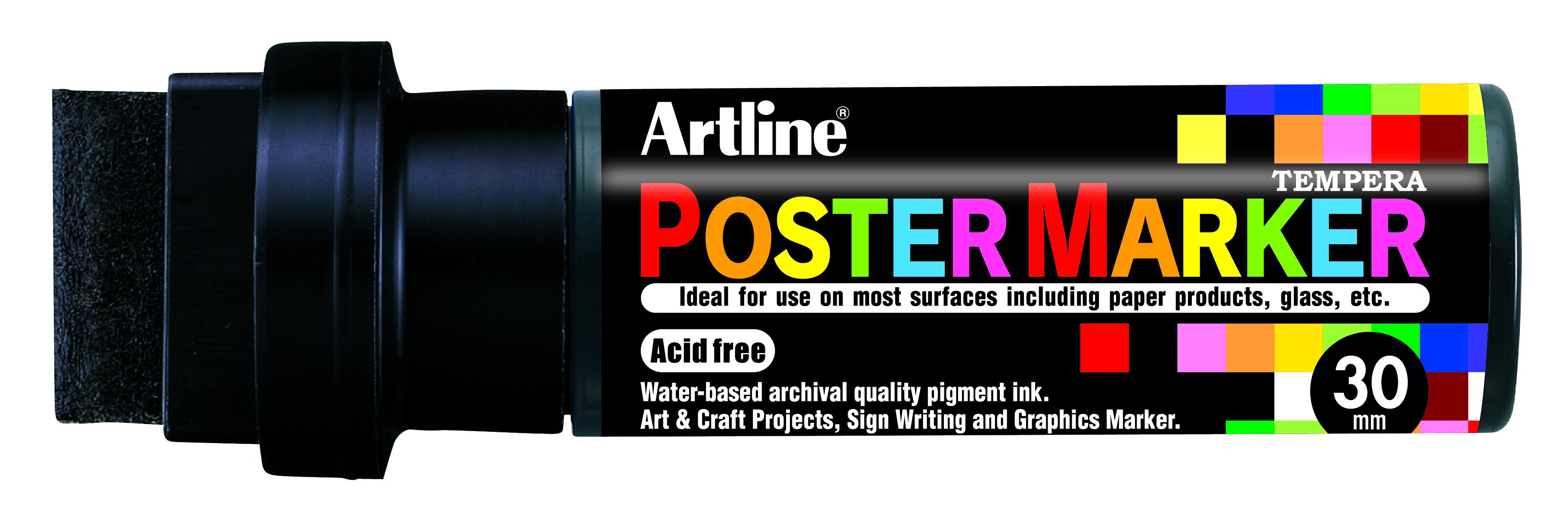 Artline EPP-30 PosterMarker 30mm merkepenn Sort
