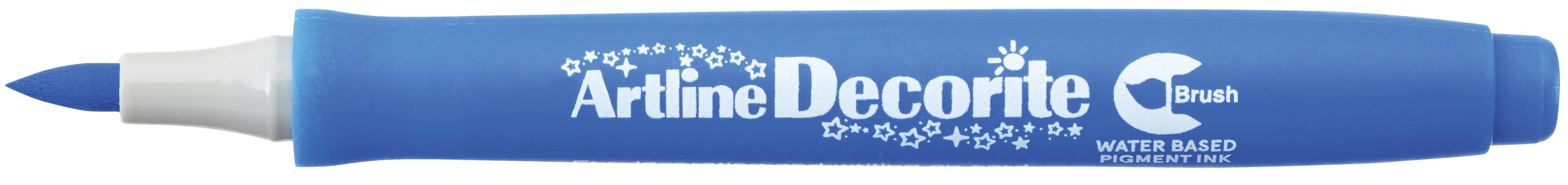 Artline Decorite Brush Blå