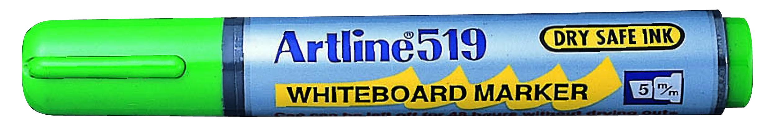 Artline 519 Whiteboardpenn grønn