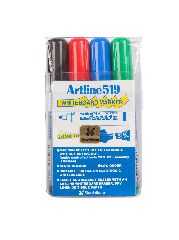 Artline 519 Whiteboardpenn 4/sett