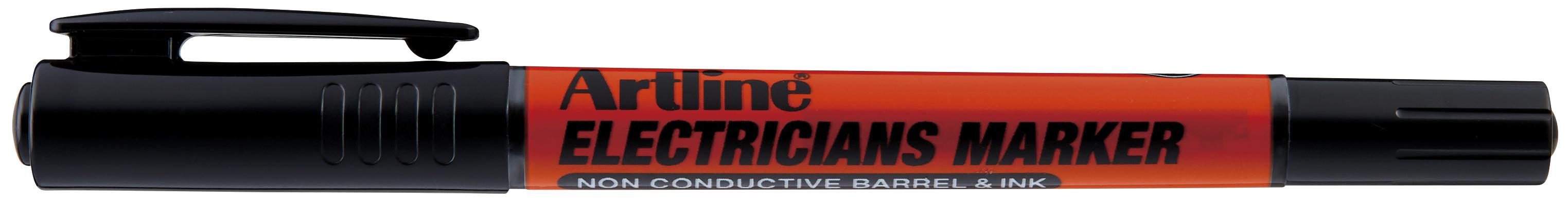Artline Electricians Merkepenn Sort
