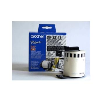 Brother Etiketter 62mmx15,24m klar film