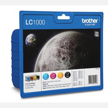LC1000 CMYK ink cartridge value blister