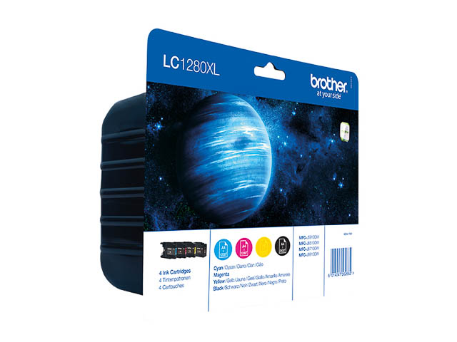 LC1280XLVAL ink cartridge value blister
