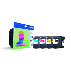 LC221 value pack ink cartridgeblistered