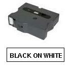 Brother TX tape 12mmx15m black/white