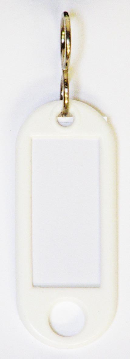 Büngers Nøkkelbrikke, hvit