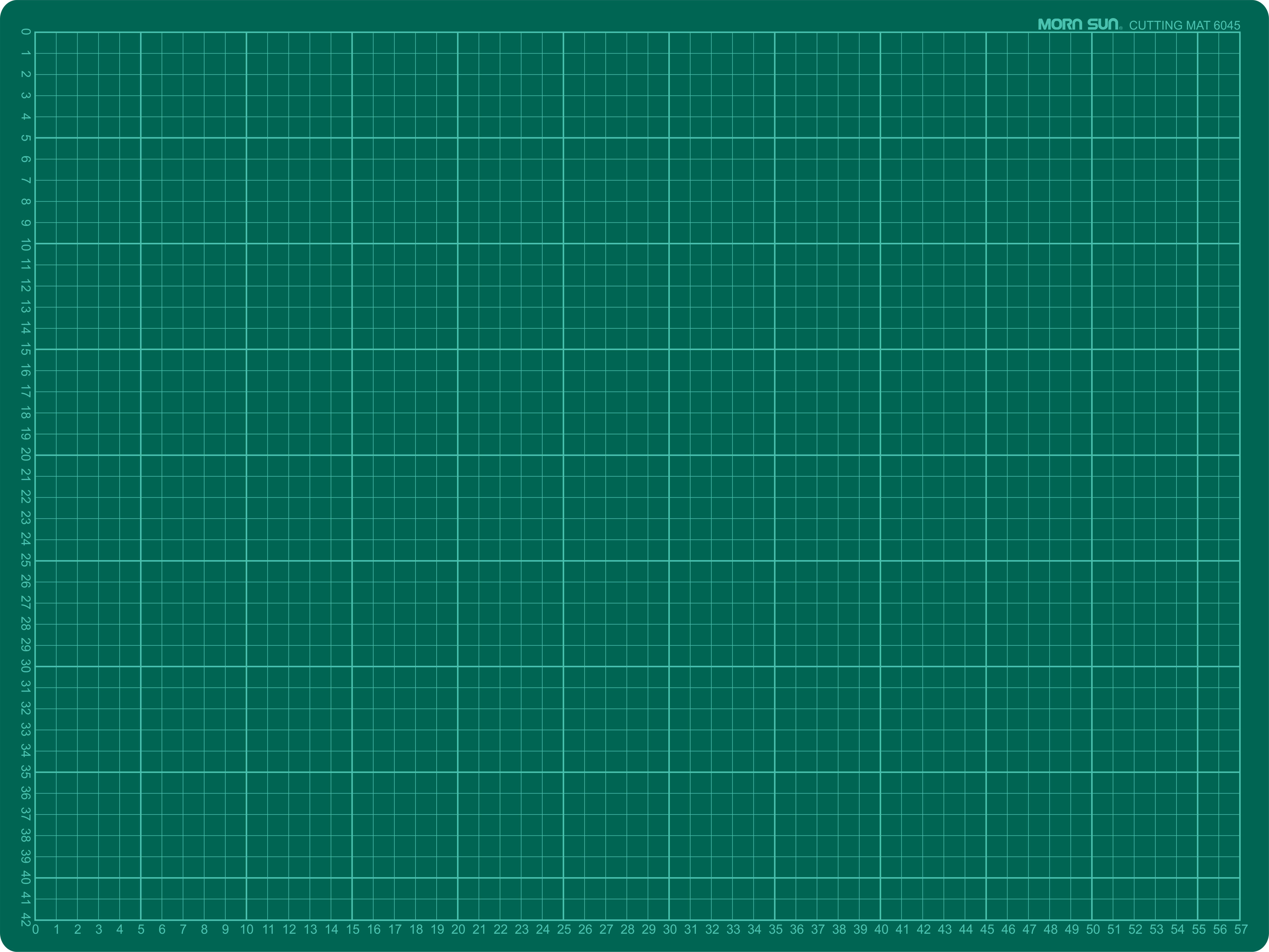 Büngers Skjærematte 60x45cm grønn