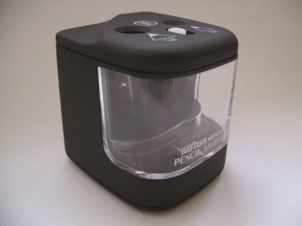 Büngers Blyantspisser batteridrevet bordmodell Sort