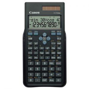 Canon F-715SG scientific Kalkulator Sort