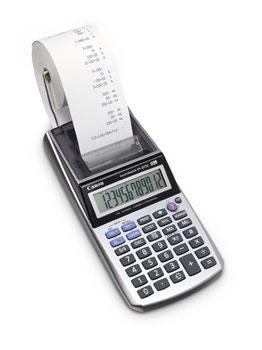 Canon P1-DTSC Skrivebords Kalkulator m/rull. w/adapter