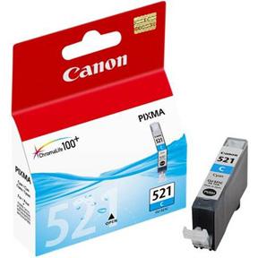CLI-521C cyan ink cartridge, blistered