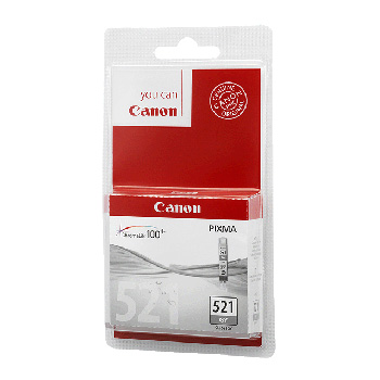 CLI-521GY grey ink cartridge, blistered