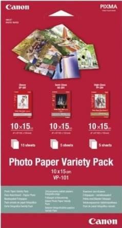 10x15 VP-101 Foto Papir Variety Pack