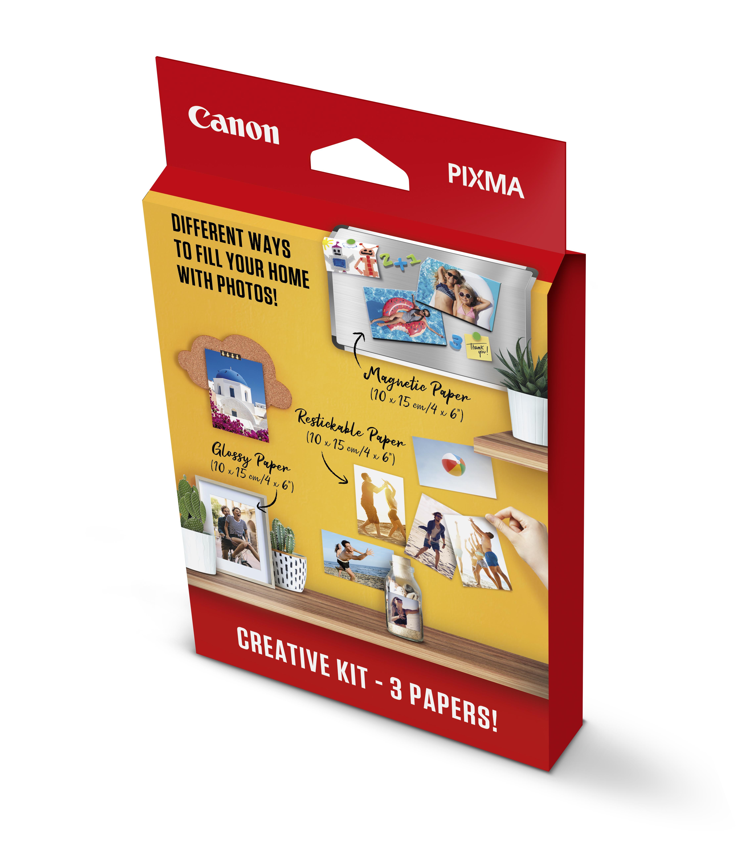 10x15 PIXMA Creative Kit MG/RP/PP (60 assorted)