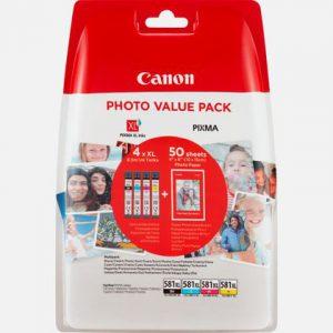CLI-581XL Photo valuepack & 4x6 PP 201 (50)