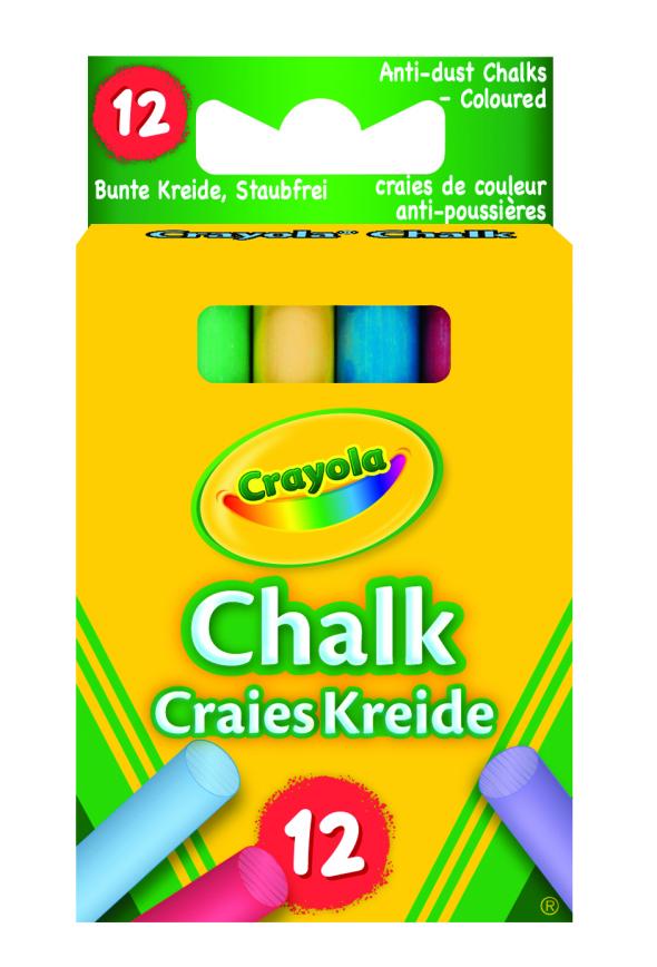 Chalk Crayola assorted (12)