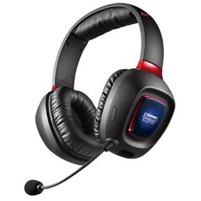 Sound Blaster Tactic3D Rage Wireless Headset, Black