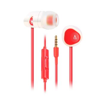 MA200 In-Ear, White/Red (TILBUD)