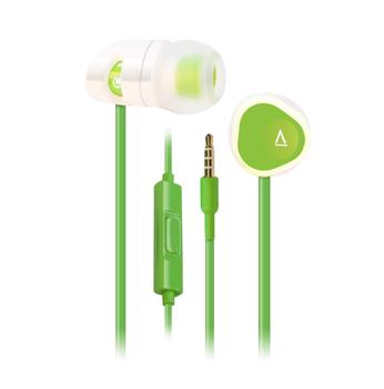 MA200 In-Ear, White/Green (TILBUD)