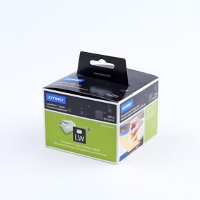 Dymo Adresseetiketter 36x89 Permanent transparante (260)