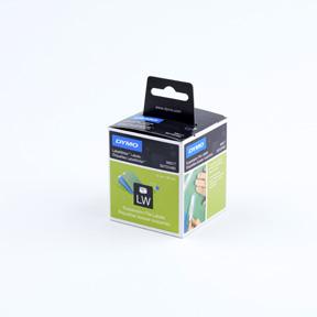 Dymo Hengemappeetiketter 12x50 Permanent hvite (220)