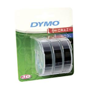 Dymo Teip 9mmx3m sort (3)