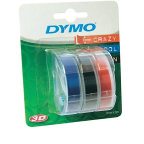 Dymo Teip 9mmx3m ass. (3)