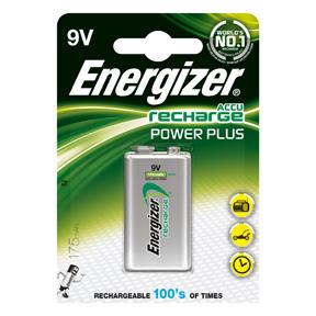 Energizer Rech HR22 175 9V (1-pack)