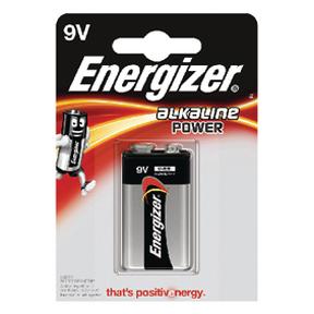 Energizer Alkaline Power 9V (1-pack)