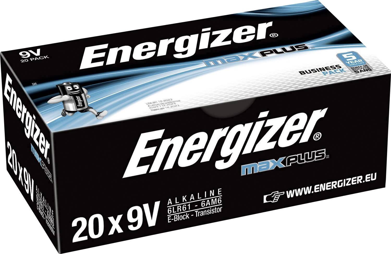 Energizer Max Plus 9v/522 (20-pack)