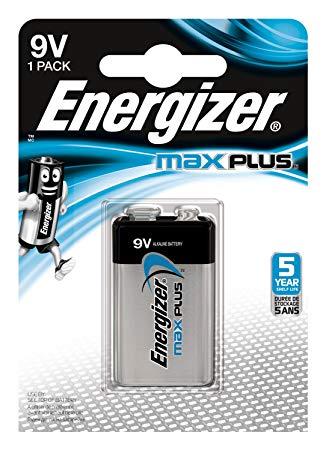 Energizer Batterier Max Plus 9v/522 (1-pk)