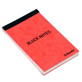 Esselte Notisblokk 105x65mm Linjert50 ark