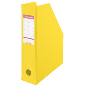 Esselte Tidsskriftsamler Vivida PVC A4 70mm gul