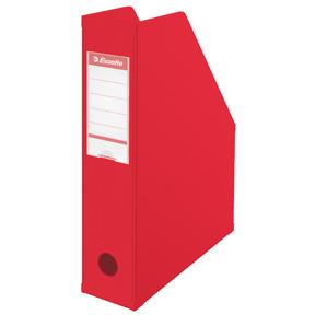 Esselte Tidsskriftsamler Vivida PVC A4 70mm rød