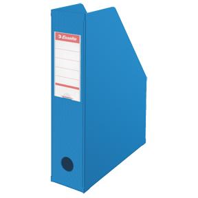 Esselte Tidsskriftsamler Vivida PVC A4 70mm blå