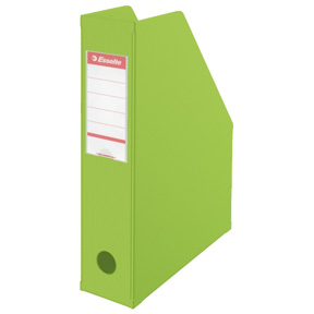 Esselte Tidsskriftsamler Vivida PVC A4 70mm grønn