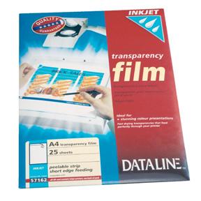 A4 Esselte Blekkskriverfilm HP m/avtakb.stripe (25)