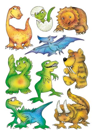 Herma Klistremerker Decor Dinosauruser