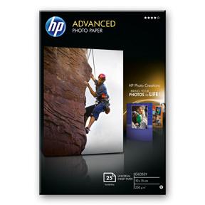 10x15 HP Advanced Glossy Fotopapir 250 g/m² (25)