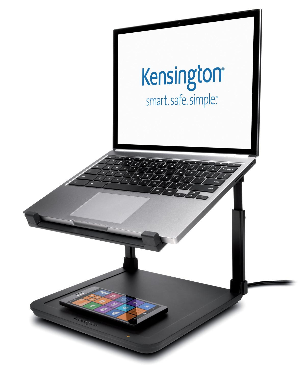 Kensington Laptop stativ med Trådløs lading