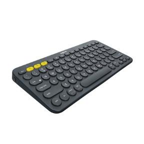 K380 Multi-Device Bluetooth Keyboard, Dark Grey (Nordic)