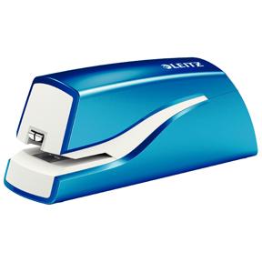 Leitz Stiftemaskin batteri WOW blå