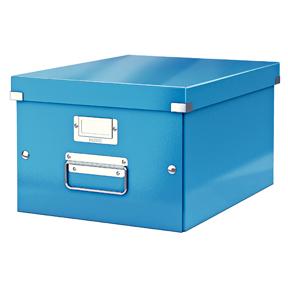 Leitz Oppbevaringsboks Click&Store M WOW blå